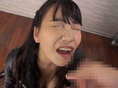 【フェラすぺ】超濃厚フェラと大量顔射 天野美優