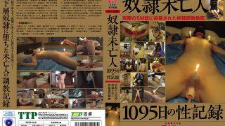 奴隷未亡人 1095日の性記録