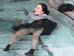 なりゆき制服入浴